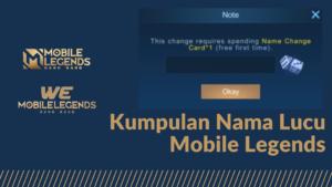 Nama Mobile Legend Lucu
