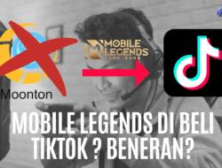 Dev Tiktok Beli Mobile Legends ? ini dia Jawabanya