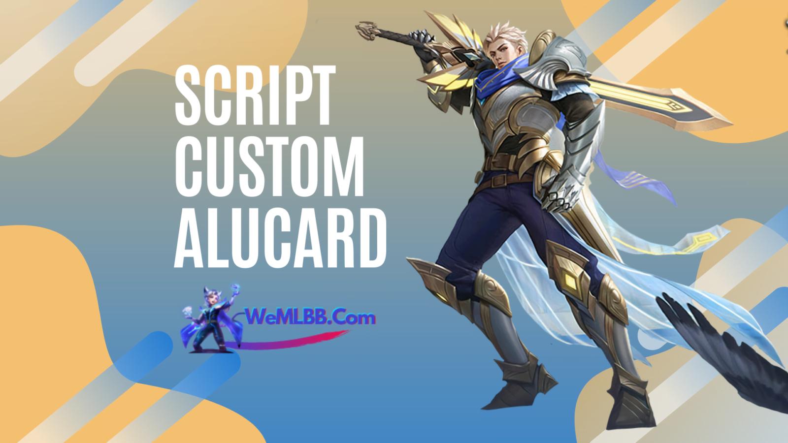 Script custom ALUCARD