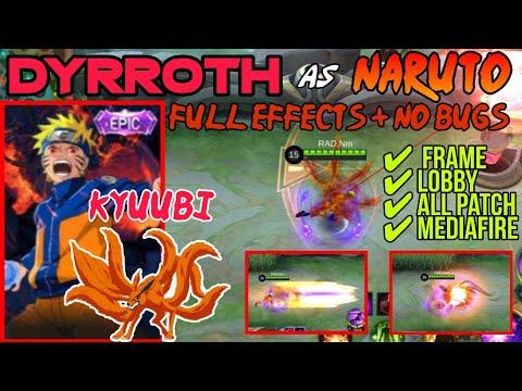 DYRROTH AS NARUTO