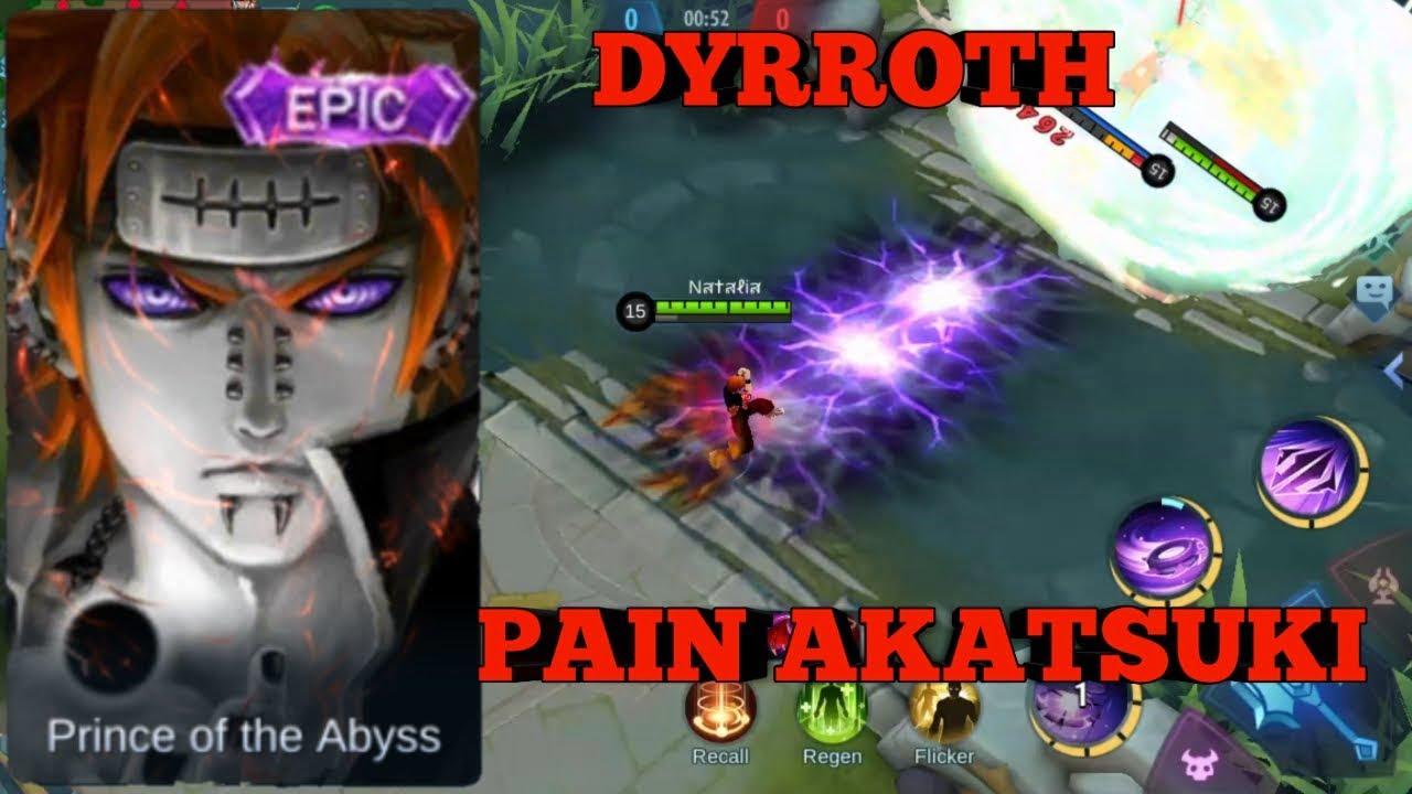 DYRROTH SKIN PAIN AKATSUKI
