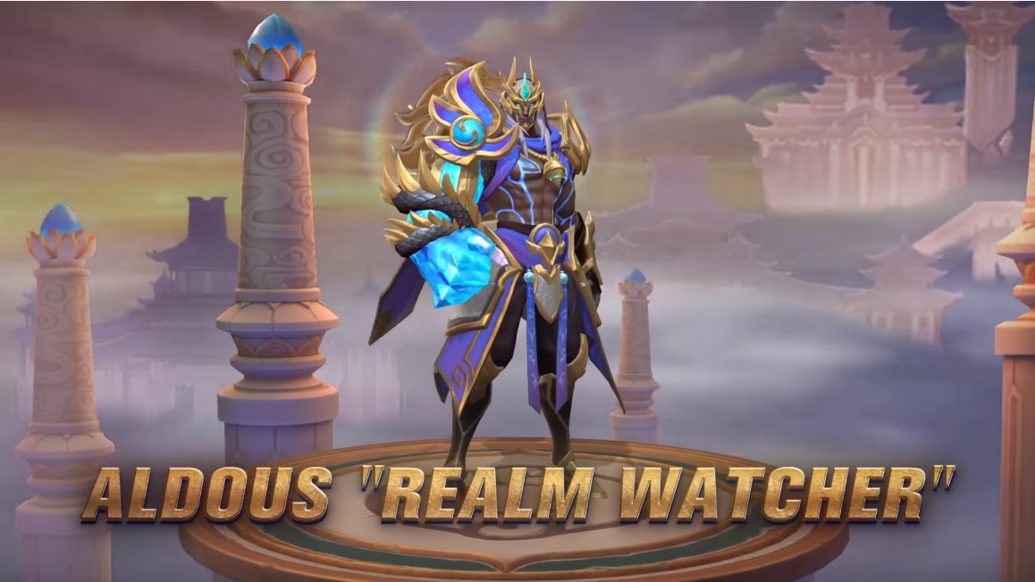 Script Skin Aldous Collector Realm Watcher